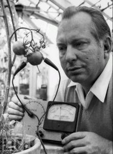 L.Ron Hubbard écoute la douleur des tomates