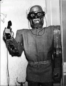 Le robot qui décroche le téléphone