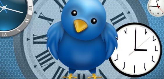 horloge twitter
