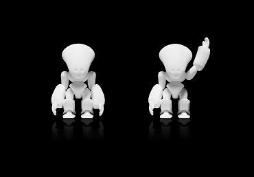 robot modélisé en 3D
