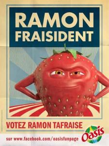 ramon président oasis affiche