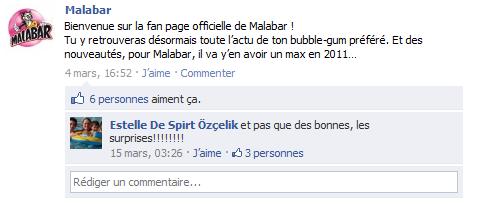 malabar facebook bienvenue