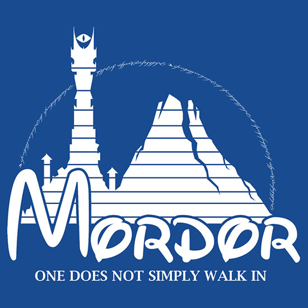 mordor vs disneyland