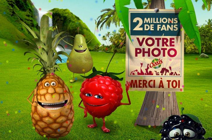 oasis 2 millions fans
