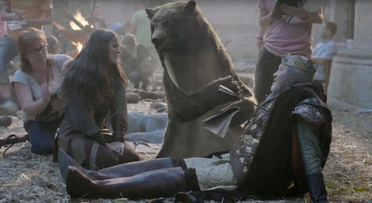 l'ours de Canal +