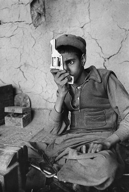 Fabrique d'armes à la frontière entre l'Afghanistan et le Pakistan, 1956.