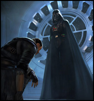 dark vador et serviteur
