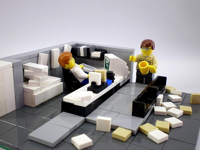 Lego bureau u centelm